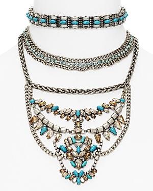 Baublebar Xenia Choker Bib Necklace