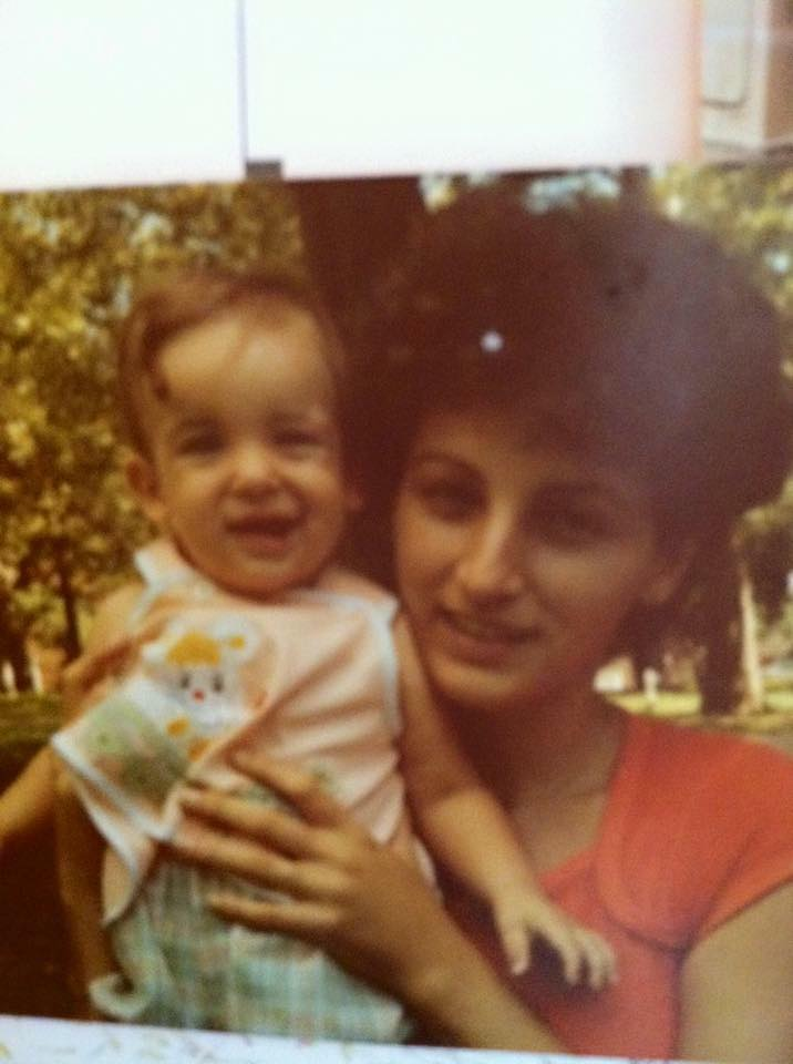 My Dear mom and me