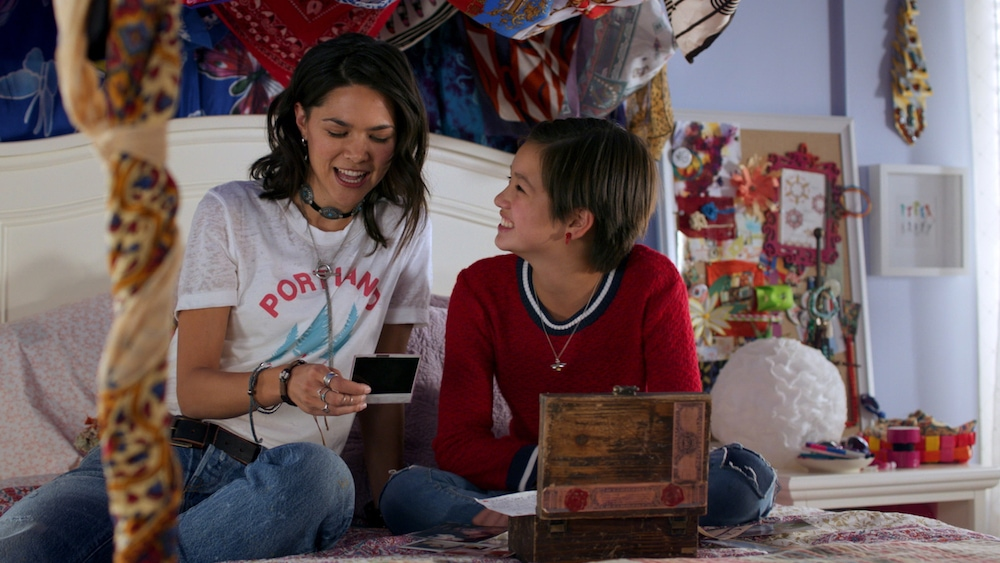 A scene from the new Disney show Andi Mack