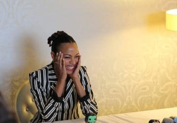 Zoe Saldana's Guardian Of The Galaxy 2 Interview: Getting To Know A Deeper Side Of Gamora #GOTGVol2Event