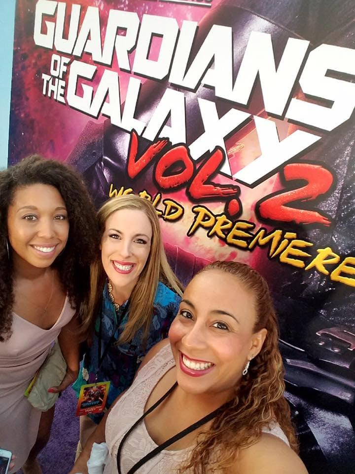 Last week, I flew out to LA to attend the Guardians of the Galaxy 2 premiere with 25 friends.