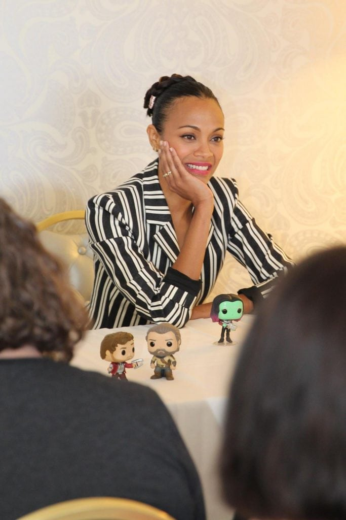 A Guardians of the Galaxy talk with Zoe Saldana