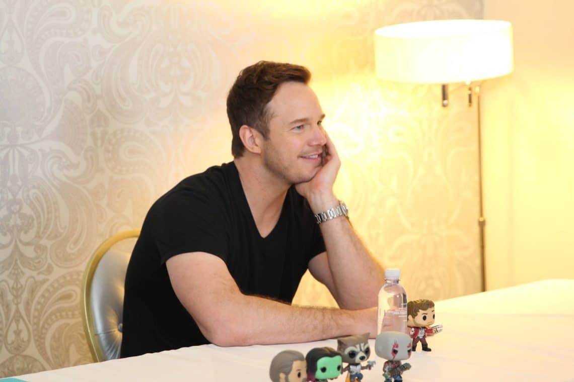 Chris Pratt Talks Guardians Of The Galaxy Vol. 2 And #WhatsMySnack #GotgVol2Event