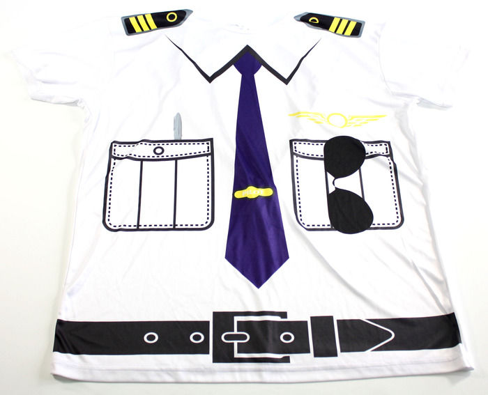 Pediatric Hospital Gown Line Pilot shirt