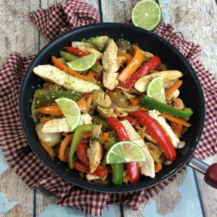 Chicken And Pepper Fajitas Recipe
