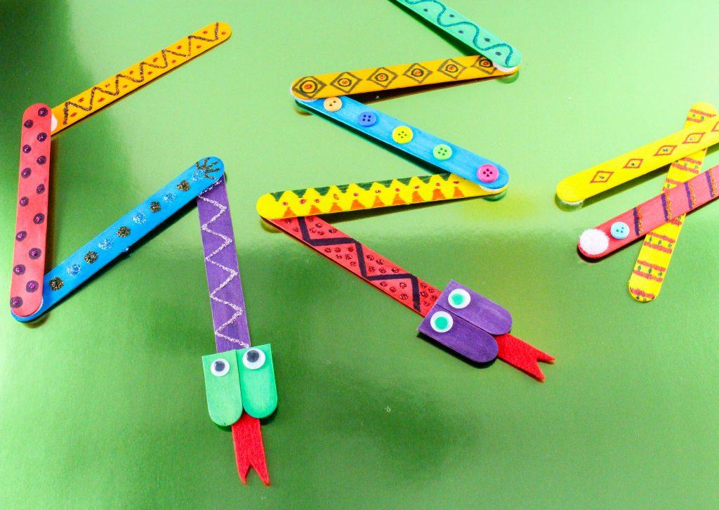 Mix-n-Match Snakes Craft