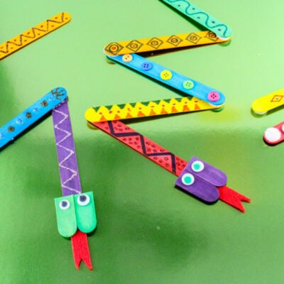 Mix-N-Match Snakes Craft: Fun For The Kids