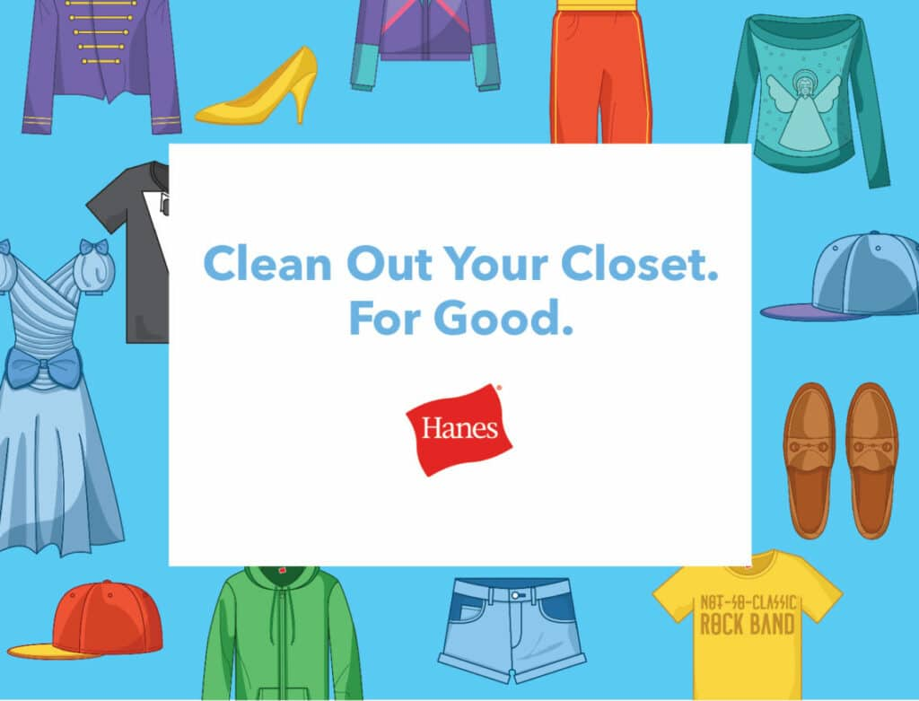Clean Out Your Closet For Good