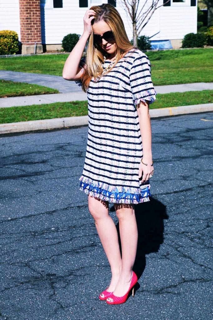The Anthropologie Miette Textured Tunic Dress
