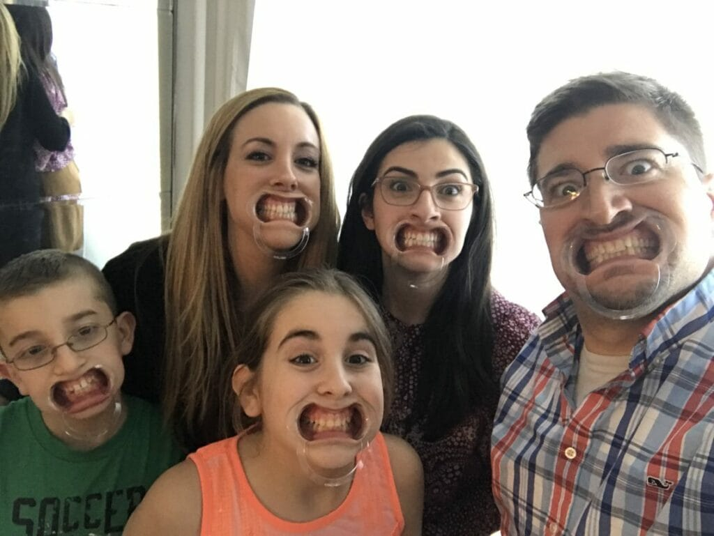 Watch Your Mouth - Entire Family Wearing Mouthguard