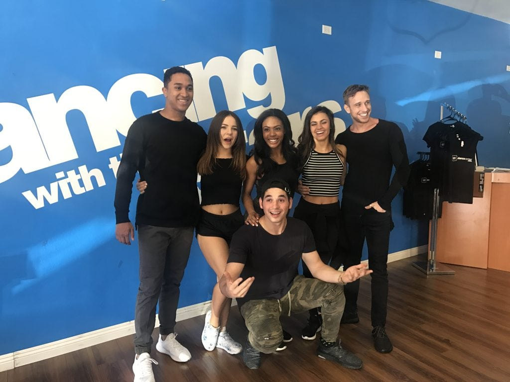 The DWTS crew!