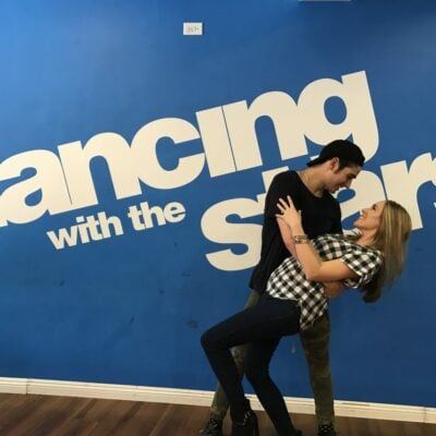 A Dance Lesson From The 'Dancing With The Stars' Crew And @Dance10Alan #ABCTVEvent (With Video)