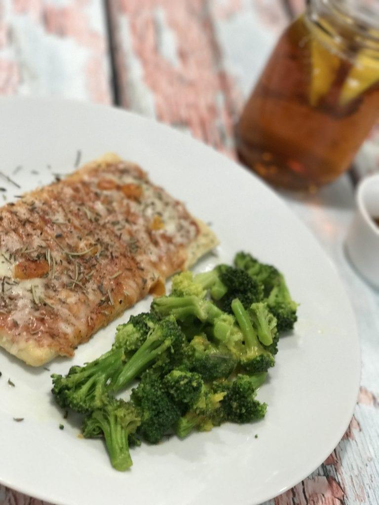 A Jenny Craig meal at home