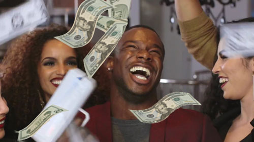 The Cash Cannon Money Gun: Now You Can Literally Make It Rain Money #cashcannon #moneygun