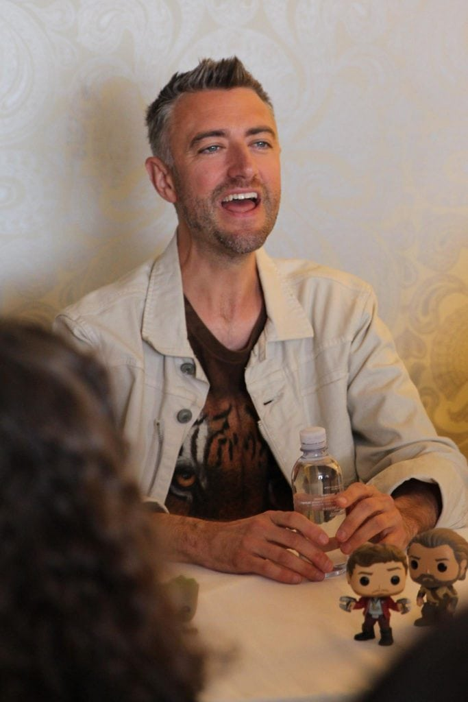 Sean Gunn from Guardians Of The Galaxy Vol. 2