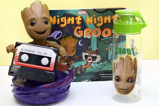 Assortment of Groot Toys