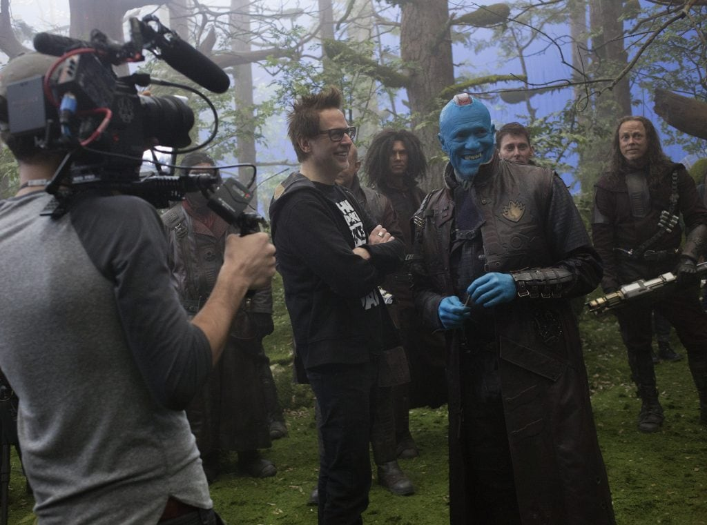 Behind the scenes from Guardians of the Galaxy movie