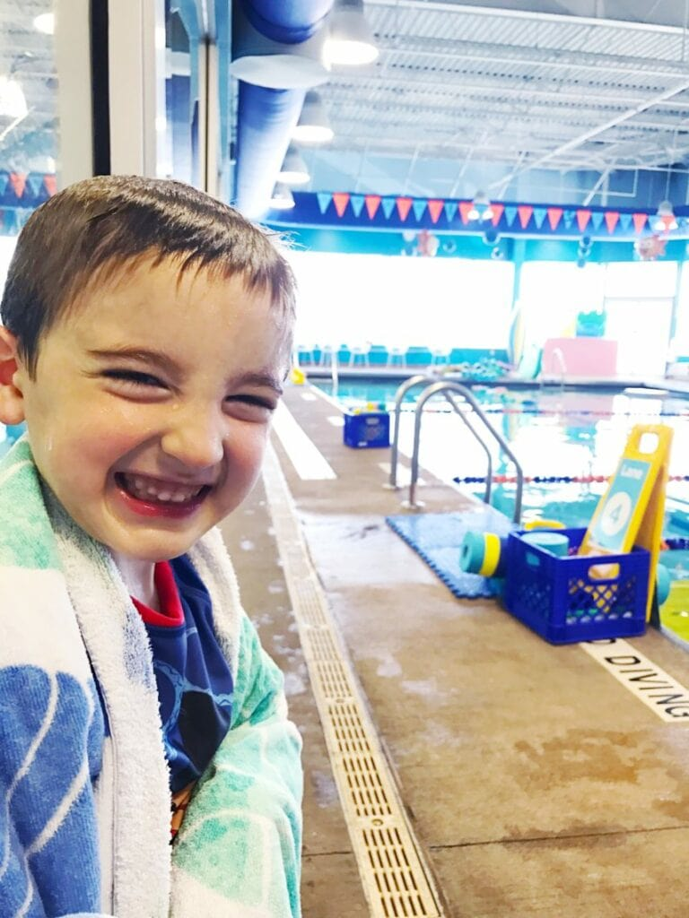 Swim classes are something that every child should take.