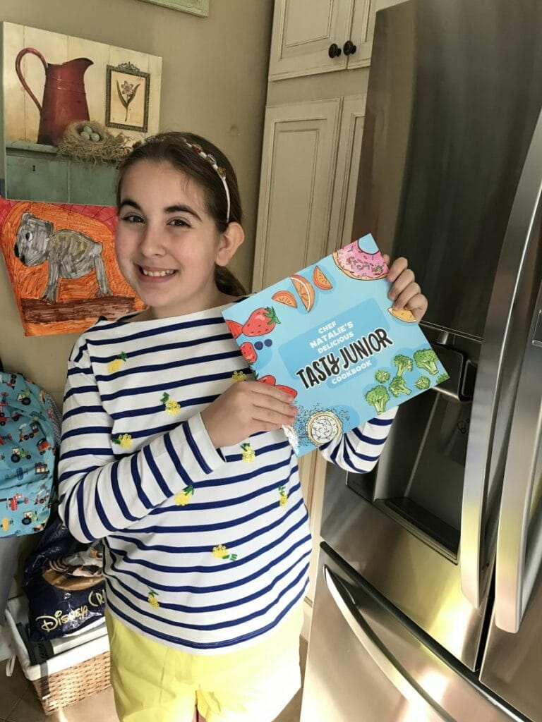 Personalized Tasty Junior Cookbook - Cooking For Kids