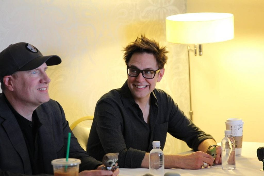 Guardians of the Galaxy James Gunn and Kevin Feige