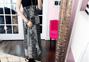 Cabi Cha Cha Maxi Dress: What She Wore #50DressesForSpring