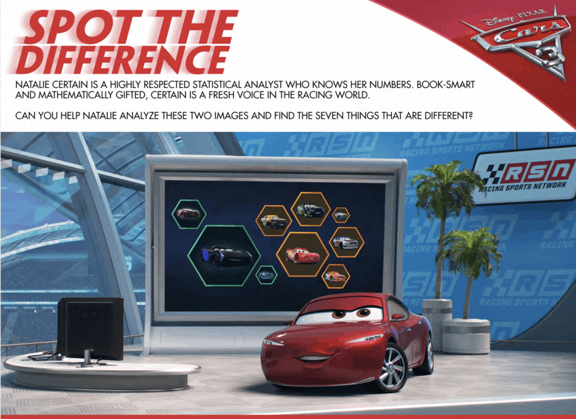 Disney's Cars 3 Free Printables: Download Your Family Activity Sheets Here #Cars3