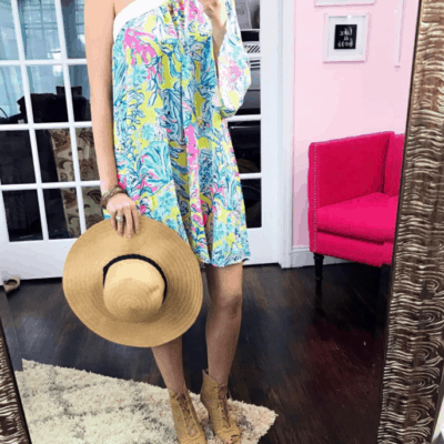 Lilly Pulitzer Shealyn Cover-Up: Lemon Drop Swim Up #50DressesForSpring