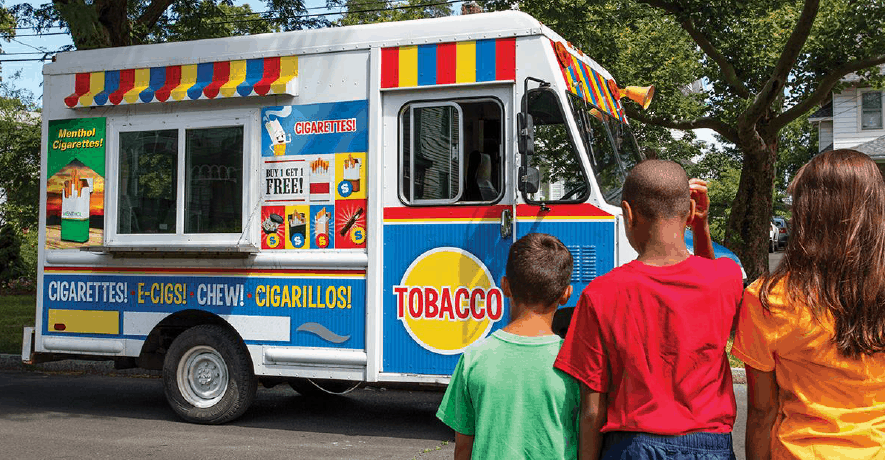 Tobacco Free New York State Ice Cream Truck