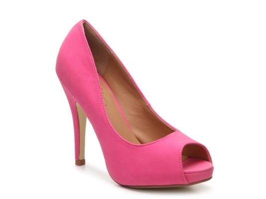 hot pink pump