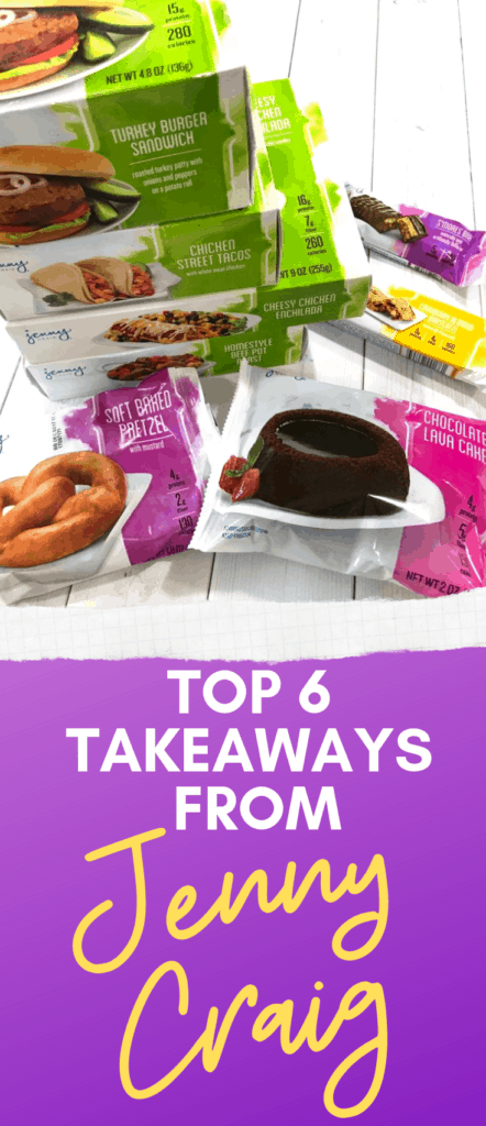 Top Takeaways From Jenny Craig