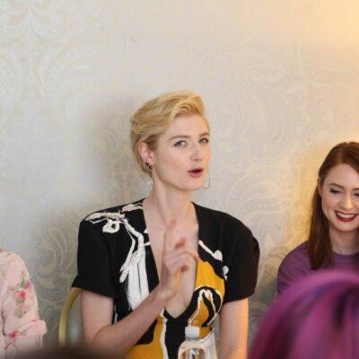Exclusive interview with Karen Gillan, Elizabeth Debicki and Pom Klementieff - Mantis from Guardians of the Galaxy Vol 2.