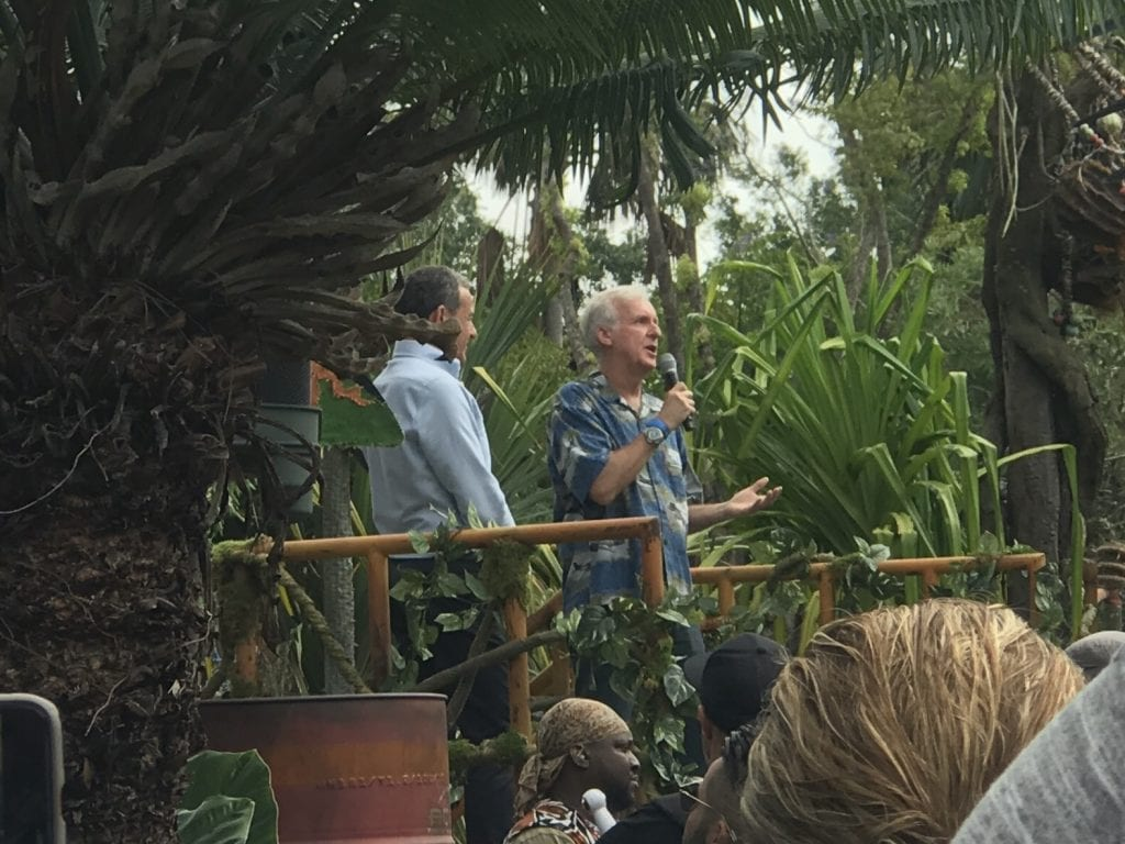 James Cameron At The Pandora Dedication Ceremony