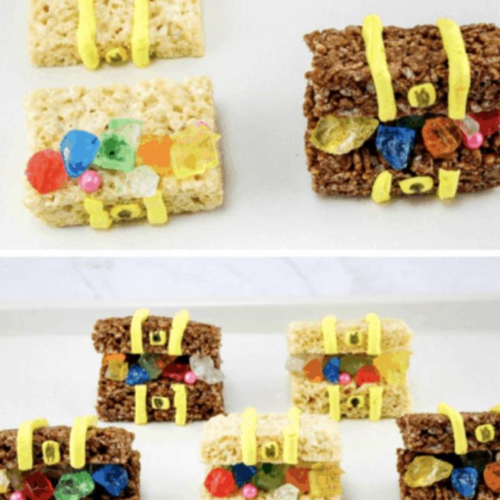 pirate treasure treats for kids