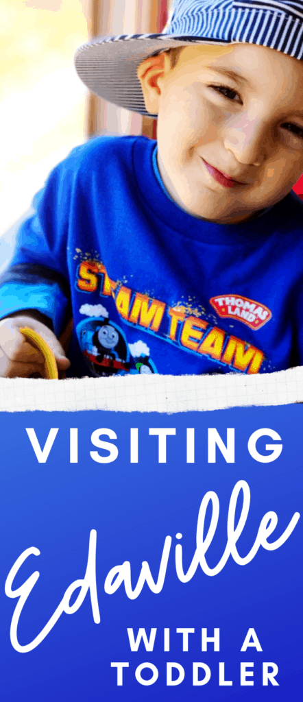 Visiting Edaville With Toddlers