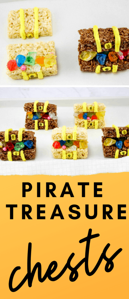 Pirate Treasure Chest Rice Krispie Treats Recipe