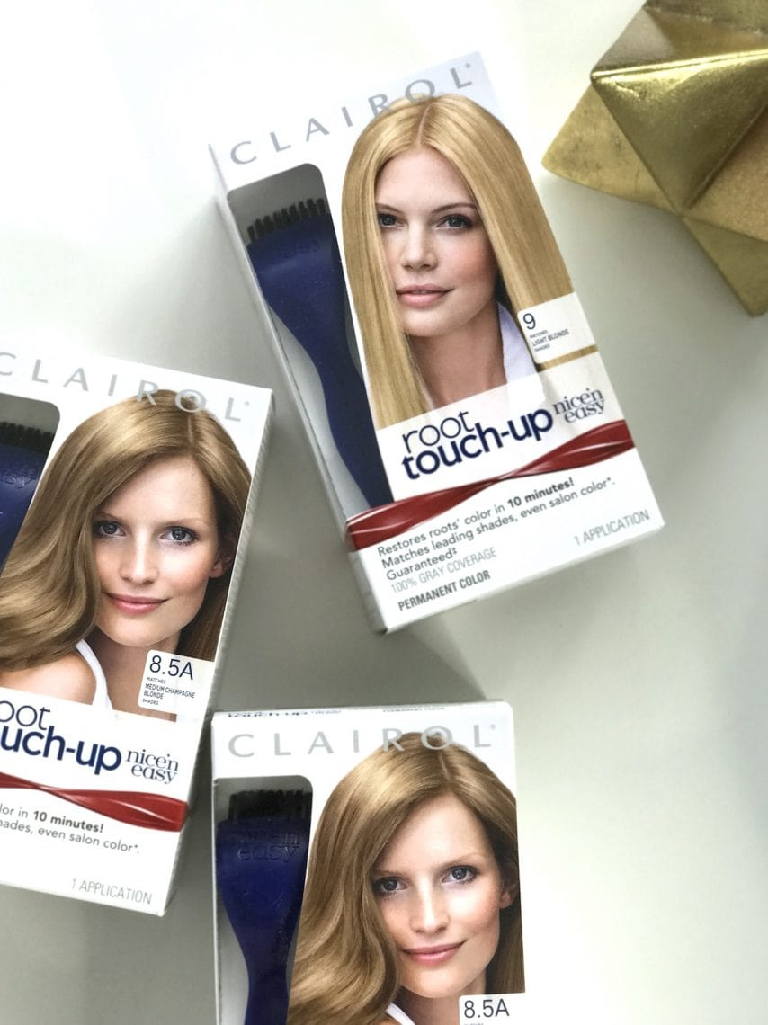 Root Touch Ups Are Easy with Clairol Root Touch Up