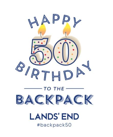 Lands' End Backpacks 50% Off Sale