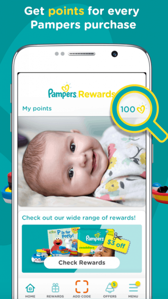 My Pampers Rewards Program