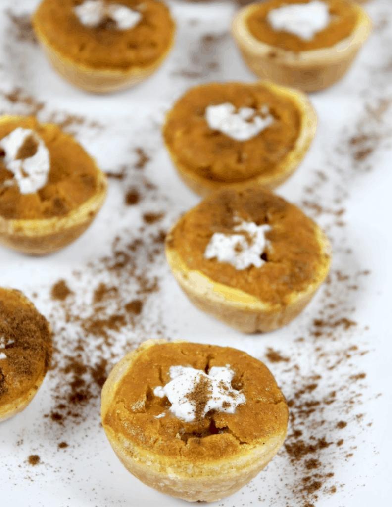 how to make pumpkin pie bites