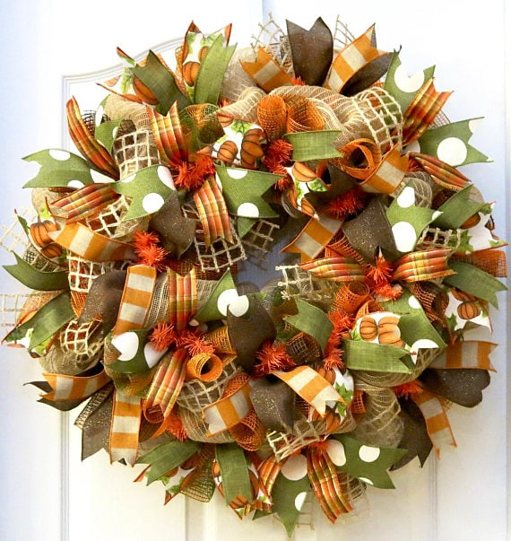 Inspirational Fall Wreaths And Where To Purchase Them