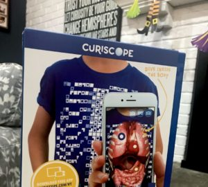 The Curiscope Virtuali-Tee Lets Your Kids Take A Look At Their Organs!