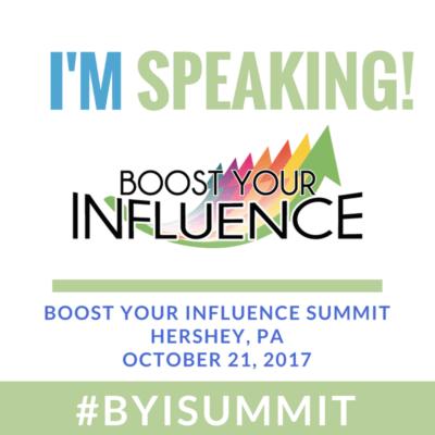 I'm Keynoting At 'Boost Your Influence' Summit With Audrey McClelland @byisummit #ByiSummit