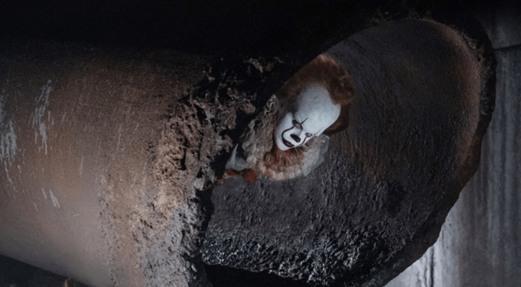 It 2017 Movie Review: New Pennywise Clown Face
