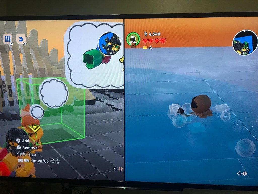 lego worlds gameplay