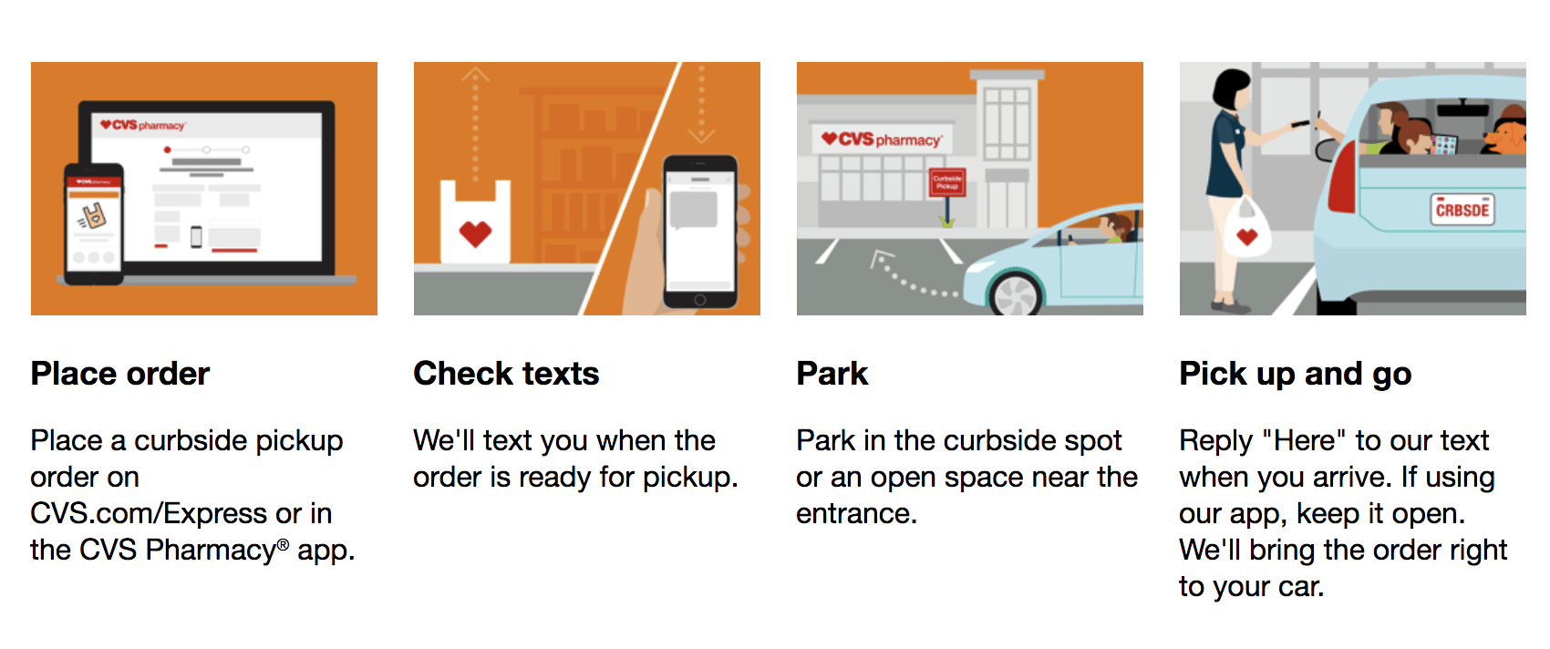 CVS Curbside Pickup: Changing The Way Your Shop - Lady and the Blog