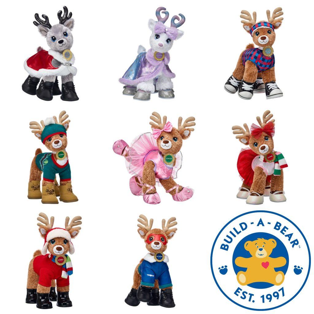 Christmas reindeers Build A Bear