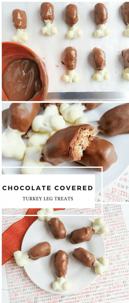 Chocolate Turkey Leg Treats Recipe