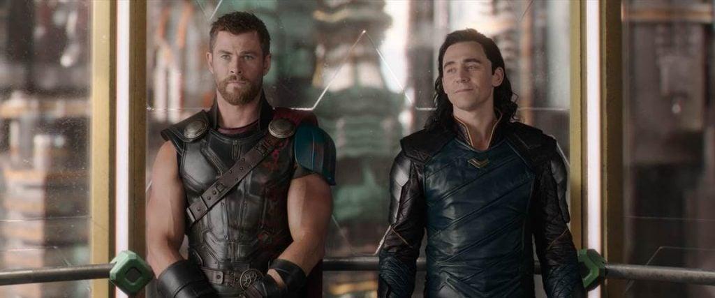 Thor and Loki movie stills