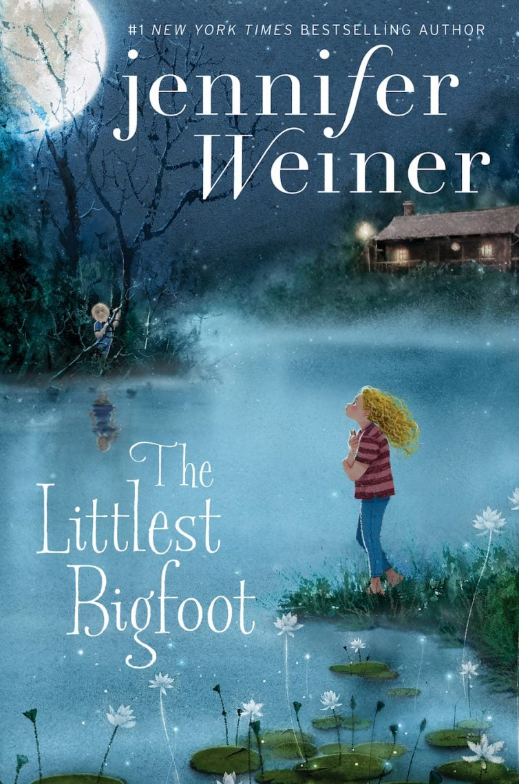 The Littlest Bigfoot Book Cover