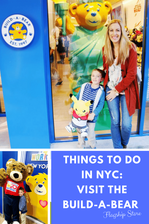 Build a Bear New York City - Build-A-Bear Workshop New NYC Flagship Store